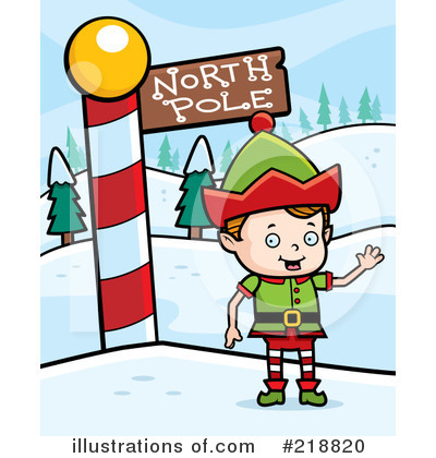 Royalty-Free (RF) Elf Clipart Illustration by Cory Thoman - Stock Sample #218820