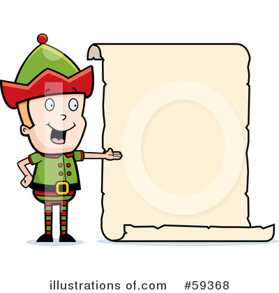 Elf Clipart #59368 by Cory Thoman