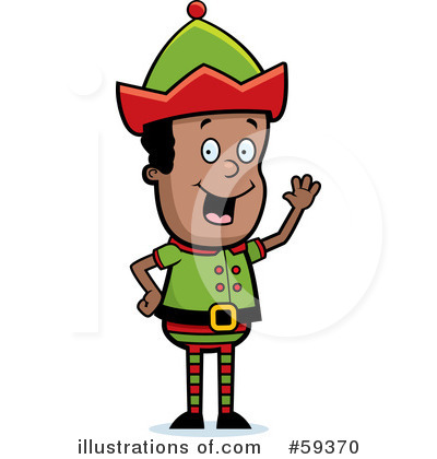 Elf Clipart #59370 by Cory Thoman