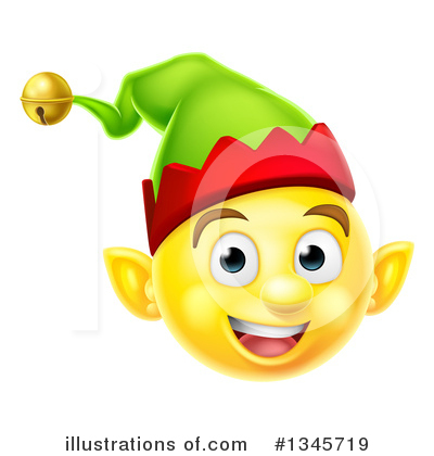 Christmas Elf Clipart #1345719 by AtStockIllustration
