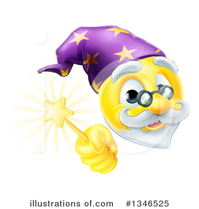 Wizard Clipart #1346525 by AtStockIllustration