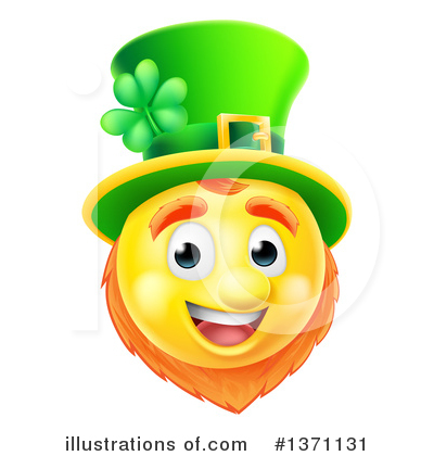 Leprechaun Clipart #1371131 by AtStockIllustration