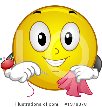 Silk wysteria, Victoria sampler Royalty-free-emoticon-clipart-illustration-1378378