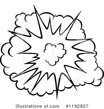 Explosion Clipart #1192827 - Illustration by Vector Tradition SM