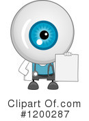 Eyeball Clipart #1200287 by BNP Design Studio