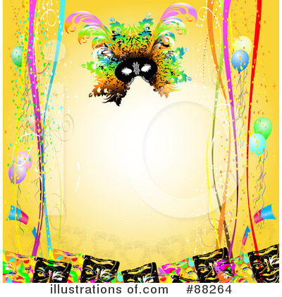 Mardi Gras Clipart #88264 by MacX