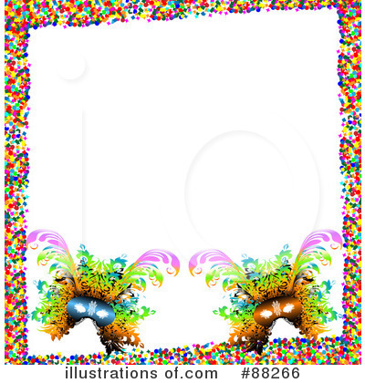 Mardi Gras Clipart #88266 by MacX