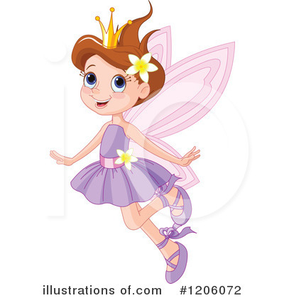 Fairy Clipart #1206072 - Illustration by Pushkin