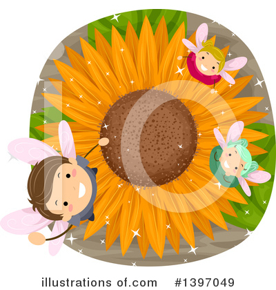 Sunflower Clipart #1397049 by BNP Design Studio
