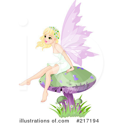 Fairy Clipart #217194 - Illustration by Pushkin