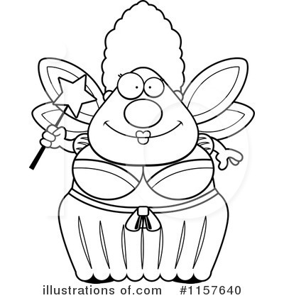 Fairy Godmother Clipart #1157640 - Illustration by Cory Thoman