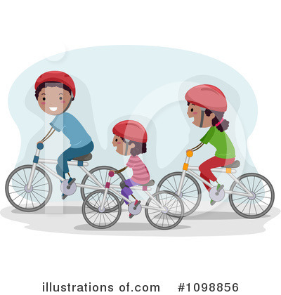 Bicycle Clipart #1098856 by BNP Design Studio