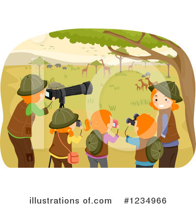 Royalty-Free (RF) Family Clipart Illustration by BNP Design Studio - Stock Sample #1234966