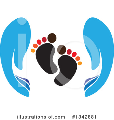 Feet Clipart #1342881 by ColorMagic