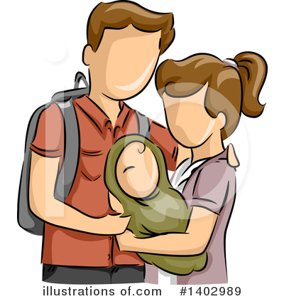 Couple Clipart #1402989 by BNP Design Studio