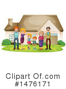 Family Clipart #1476171 by Graphics RF