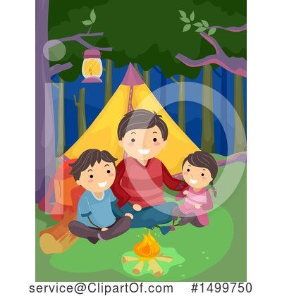 Camping Clipart #1499750 by BNP Design Studio