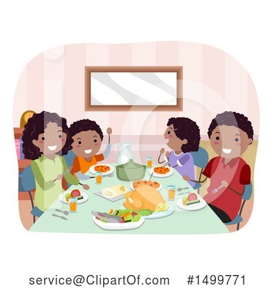 Family Clipart #1499771 by BNP Design Studio