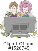 Family Clipart #1528745 by Alex Bannykh