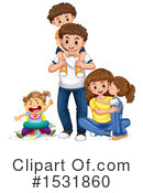 Family Clipart #1531860 by Graphics RF