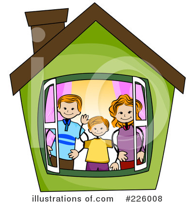 House Clipart #226008 by BNP Design Studio