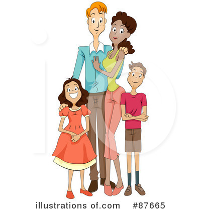 Family Clipart #87665 by BNP Design Studio