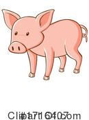 Farm Animal Clipart #1716407 by Graphics RF