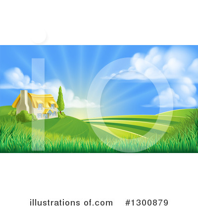 Sunshine Clipart #1300879 by AtStockIllustration