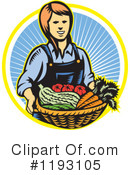 Farmer Clipart #1193105 by patrimonio