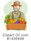 Farmer Clipart #1435898 by BNP Design Studio