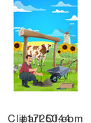 Farmer Clipart #1725044 by Vector Tradition SM