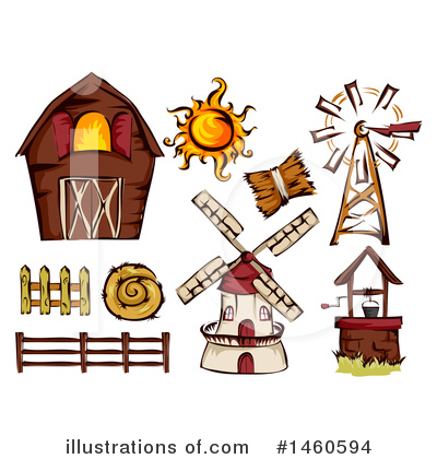 Royalty-Free (RF) Farming Clipart Illustration by BNP Design Studio - Stock Sample #1460594