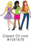 Fashion Clipart #1091676 by Maria Bell
