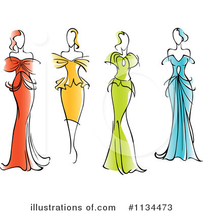 Model Clipart #1134473 by Vector Tradition SM