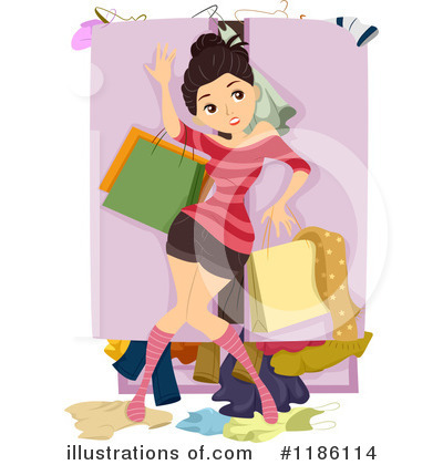Royalty-Free (RF) Fashion Clipart Illustration by BNP Design Studio - Stock Sample #1186114