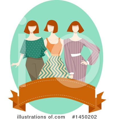 Fashion Clipart #1450202 by BNP Design Studio