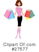 Fashion Clipart #27577 by KJ Pargeter