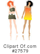 Fashion Clipart #27579 by KJ Pargeter