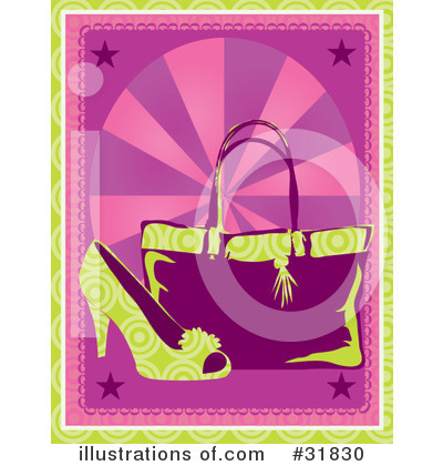 High Heel Clipart #31830 by Maria Bell