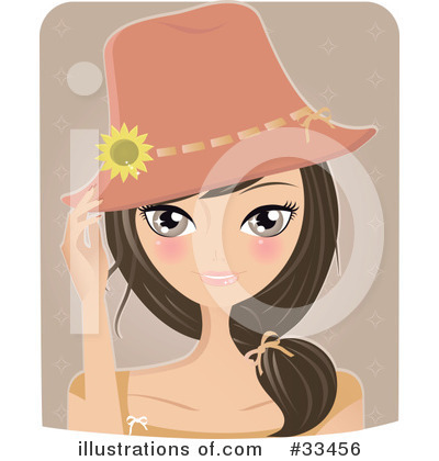 Beauty Clipart #33456 by Melisende Vector