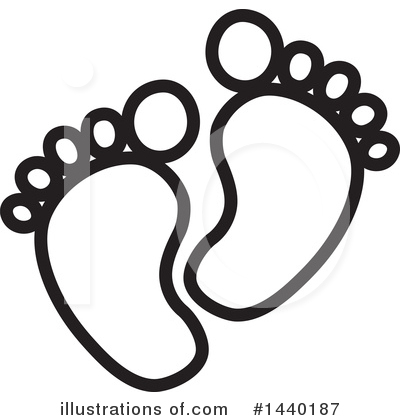 Feet Clipart #1440187 by ColorMagic