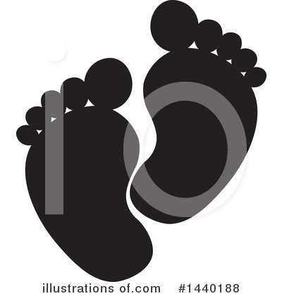 Feet Clipart #1440188 by ColorMagic