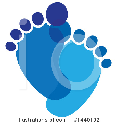 Feet Clipart #1440192 by ColorMagic