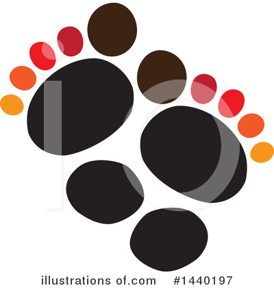 Feet Clipart #1440197 by ColorMagic