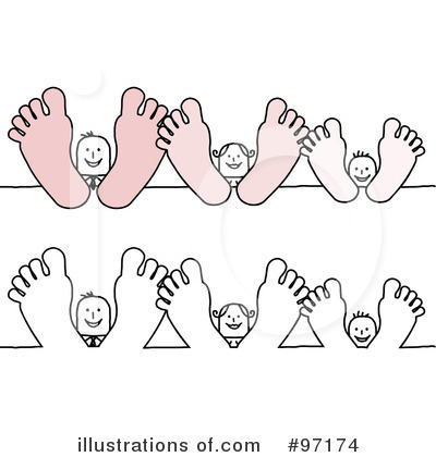 Feet Clipart #97174 - Illustration by NL shop