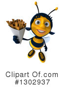 Female Bee Clipart #1302937 by Julos