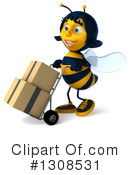Female Bee Clipart #1308531 by Julos