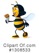 Female Bee Clipart #1308533 by Julos
