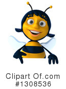 Female Bee Clipart #1308536 by Julos