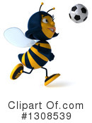 Female Bee Clipart #1308539 by Julos